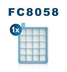 Philips FC8058 utánygártott szűrő filter a Philips porzsáknélküli porszívókba