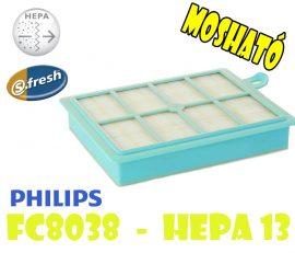 Philips HEPA 13 - FC8038 filter - MOSHATÓ !!!
