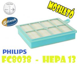 Philips HEPA 13 - FC8038 filter - MOSHATÓ !!!