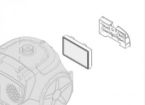 Philips HEPA filter - EPA 10 mosható kimeneti filter - 432200494491