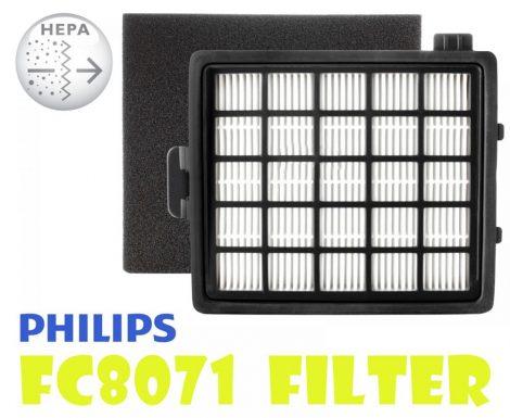 Philips FC8071 szűrő szett / HEPA + SZIVACS szűrő - EasyLife sorozat
